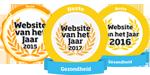 Winnaar beste website gezondheid