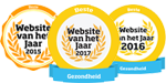 Winnaar beste website gezondheid